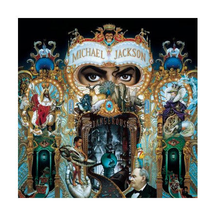 Michael Jackson - Dangerous CD