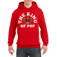 The King Of Pop Pullover Hoodie