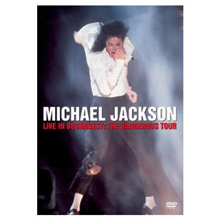 Michael Jackson - Live In Concert In Bucharest: The Dangerous Tour DVD