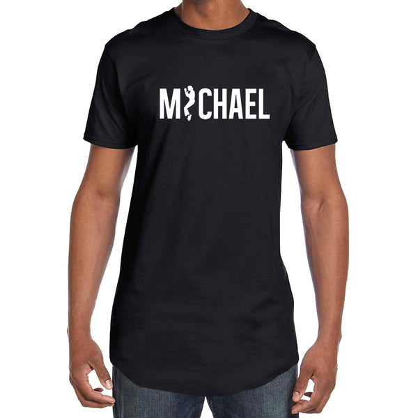 MICHAEL Tunic Black Tee