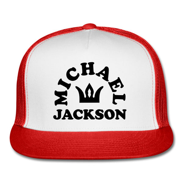 Michael Jackson Red Foam Trucker Hat/OS