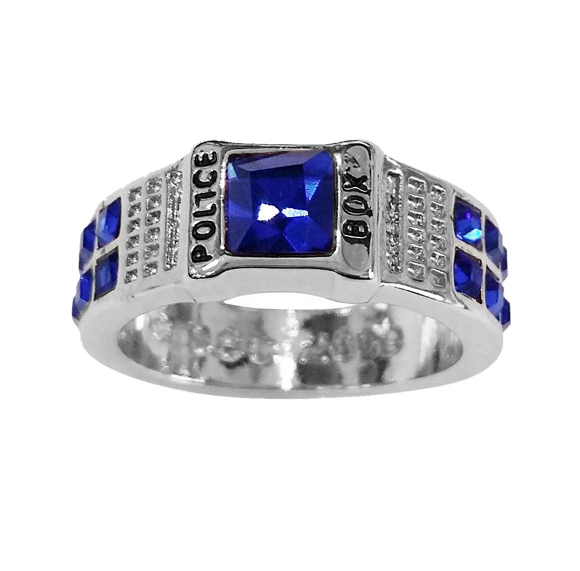 Doctor Who Police Box Ring