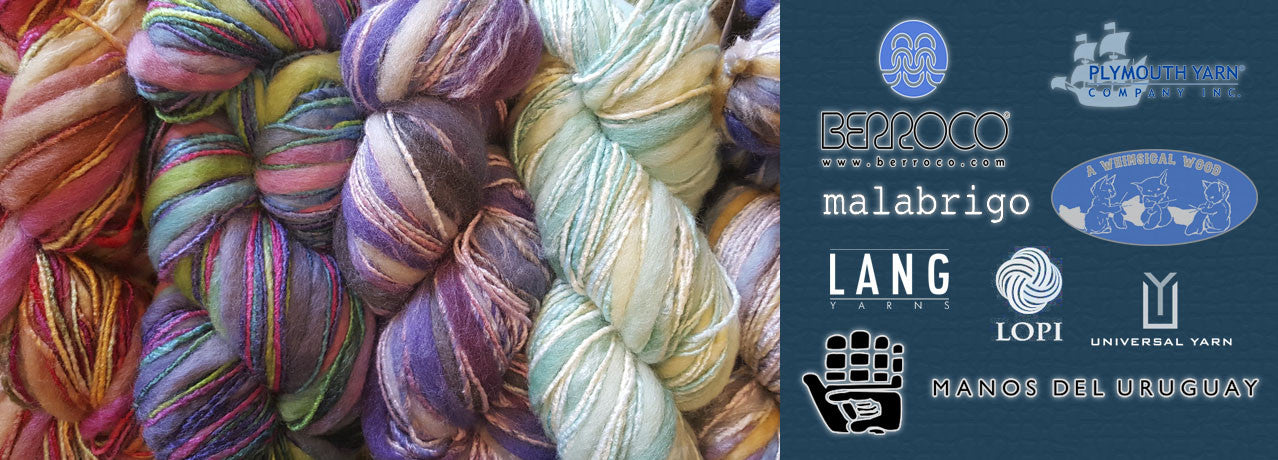 View our amazing yarns from all over the world!