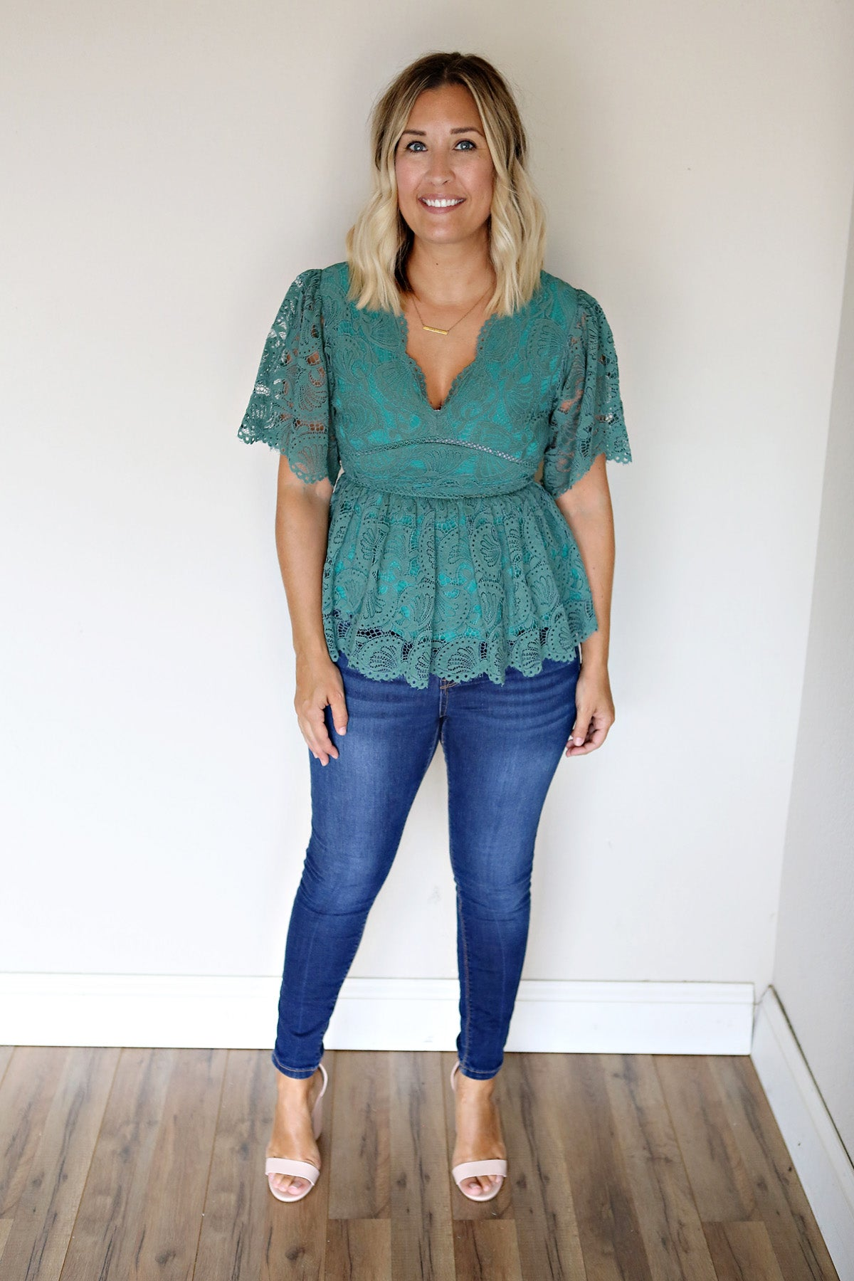 Brooke Top - Green