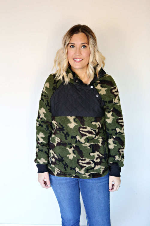 Talon Camo Pullover - FINAL SALE