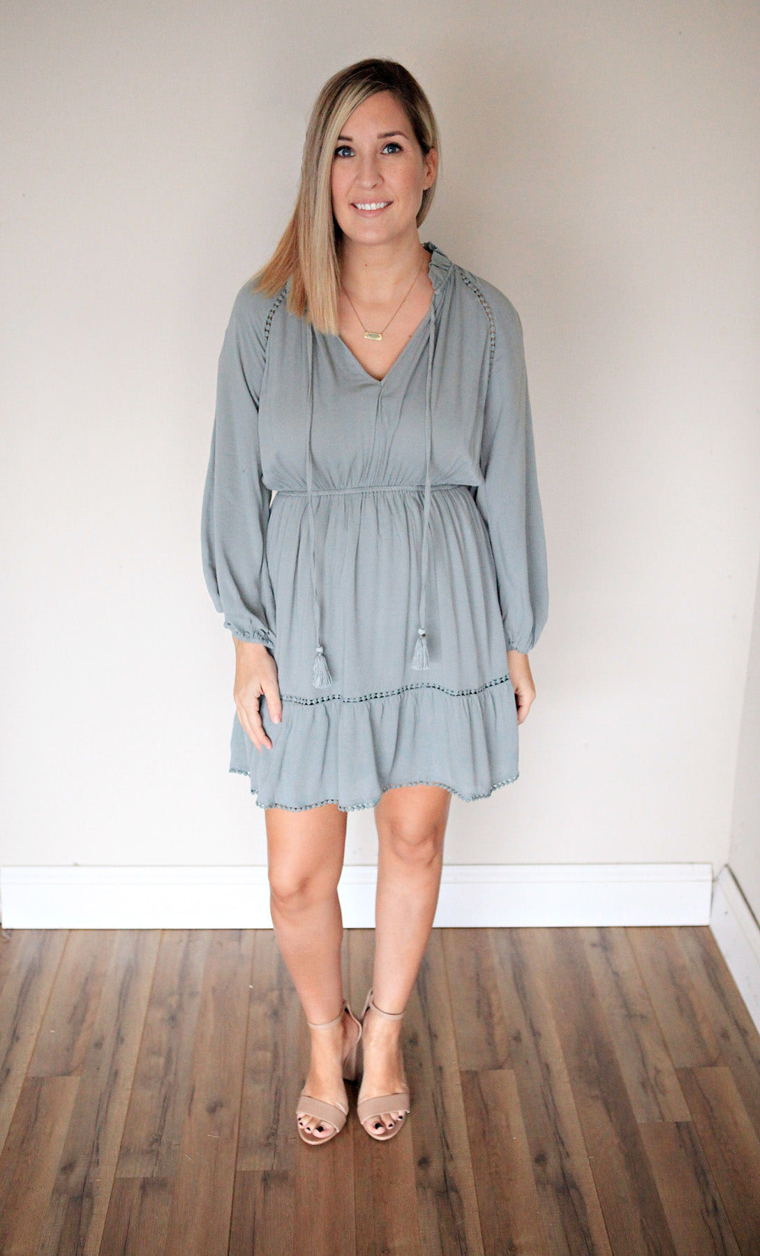 Hannah Dress - FINAL SALE - Gray Monroe