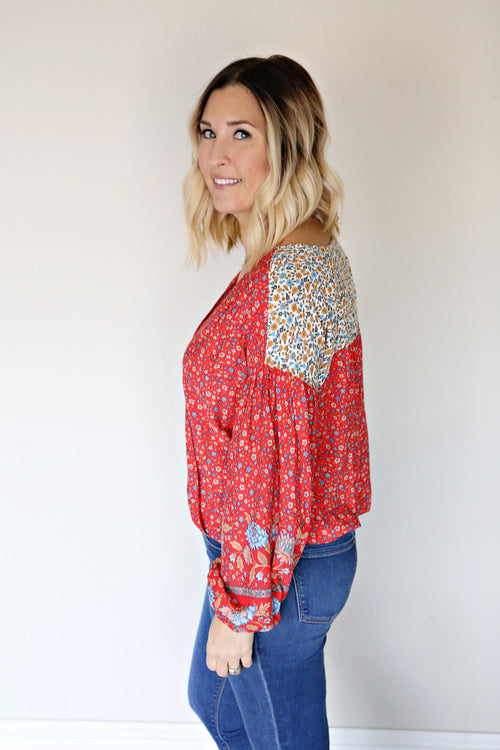 Sienna Boho Top - FINAL SALE