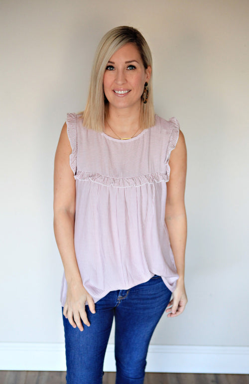 Holly Top - FINAL SALE - Gray Monroe