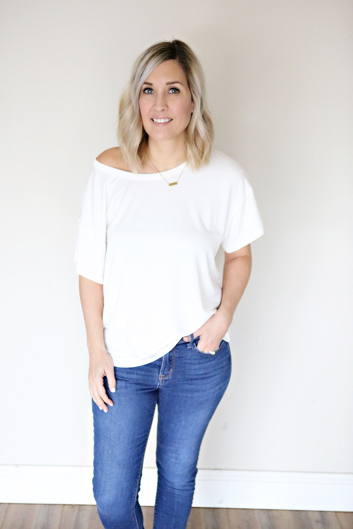 Elizabeth Top - Ivory - FINAL SALE - Gray Monroe