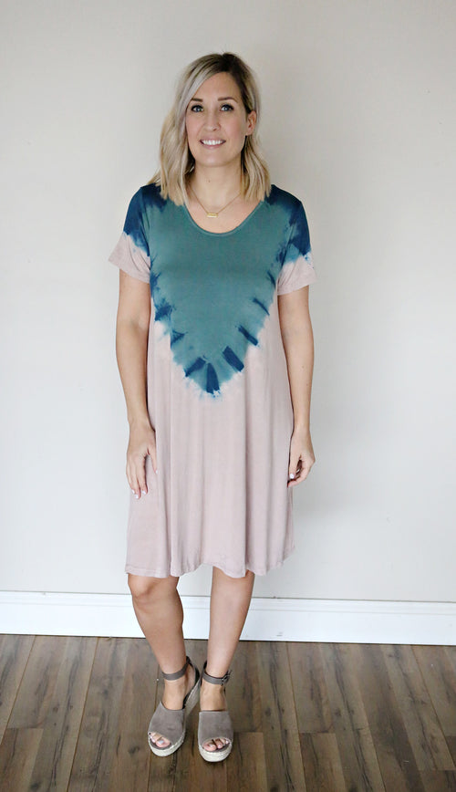 Krista Dress - FINAL SALE - Gray Monroe