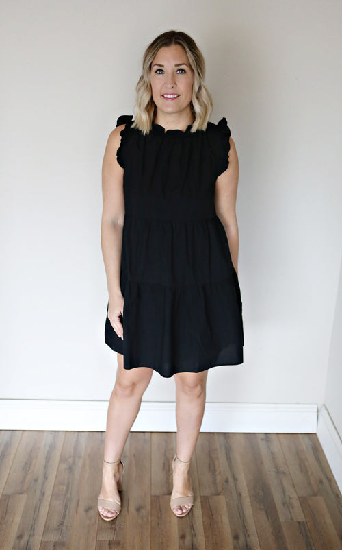 Caleb Dress - Black