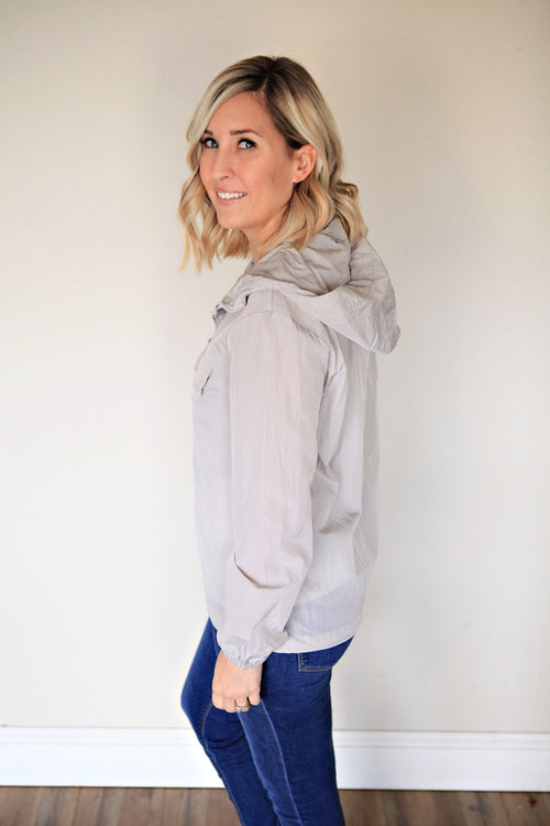 Christine Windbreaker - FINAL SALE - Gray Monroe