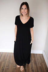 Mikah Maxi Dress - Black - FINAL SALE - Gray Monroe