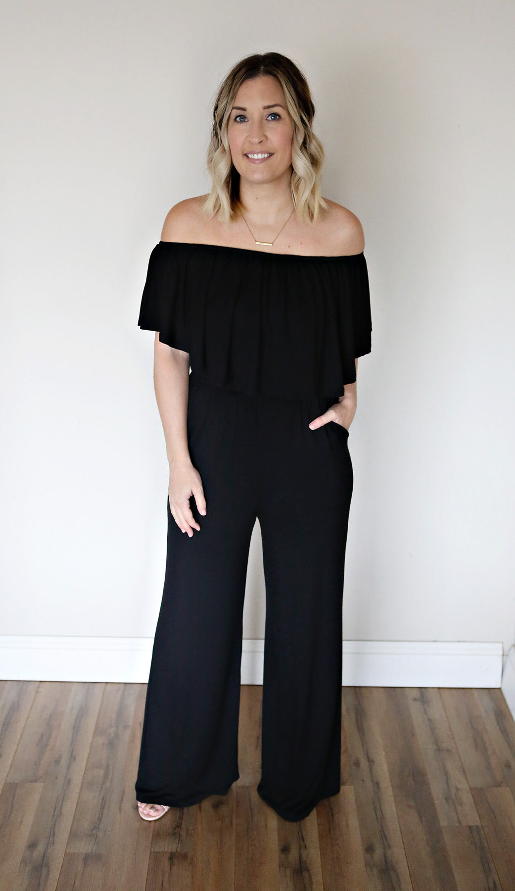 Landis Jumpsuit - Black