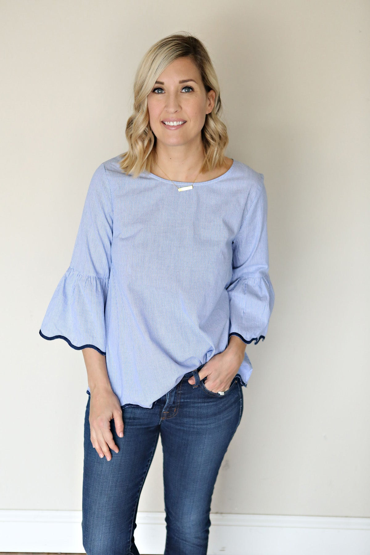 Evelyn Top - Gray Monroe
