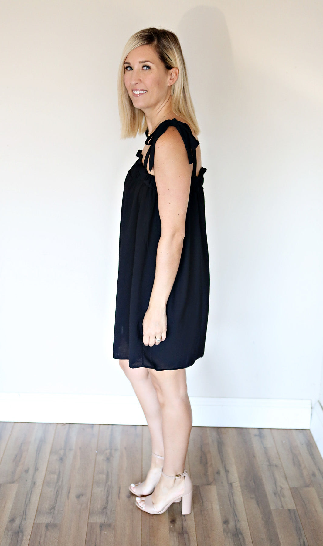 Mindy Dress - Black - FINAL SALE