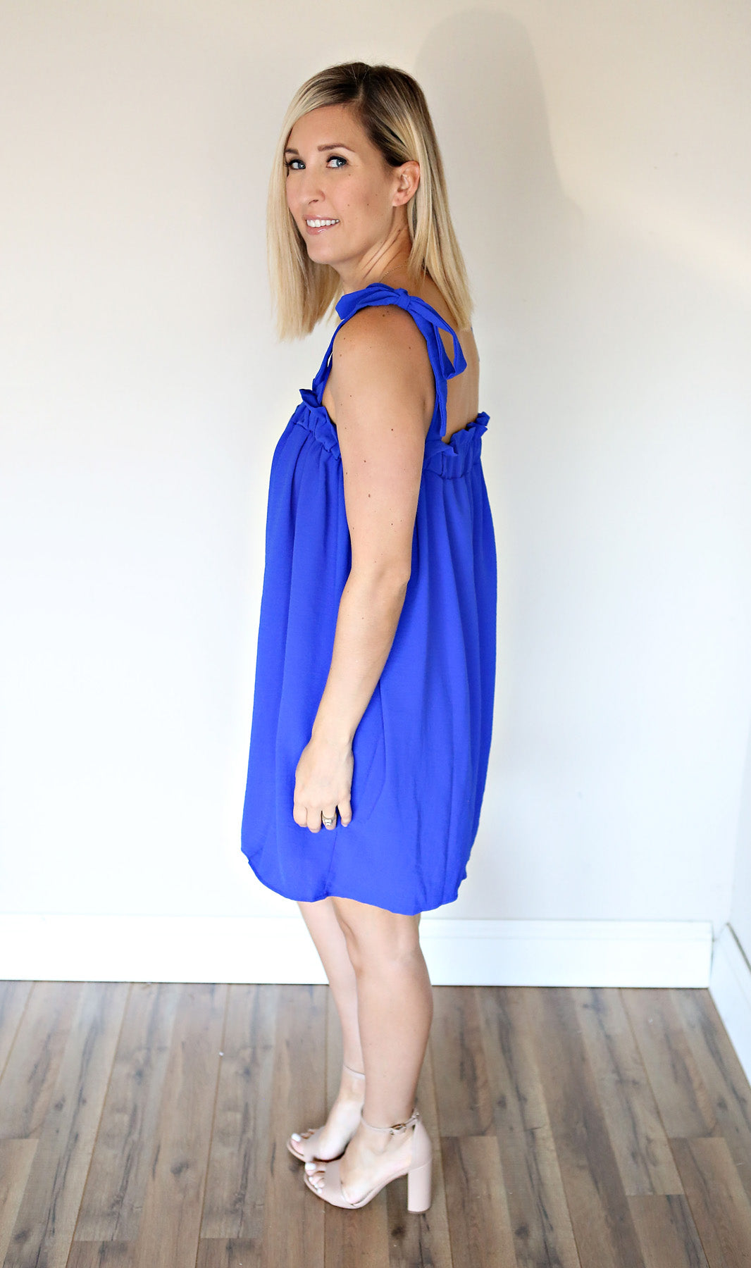 Mindy Dress - Royal