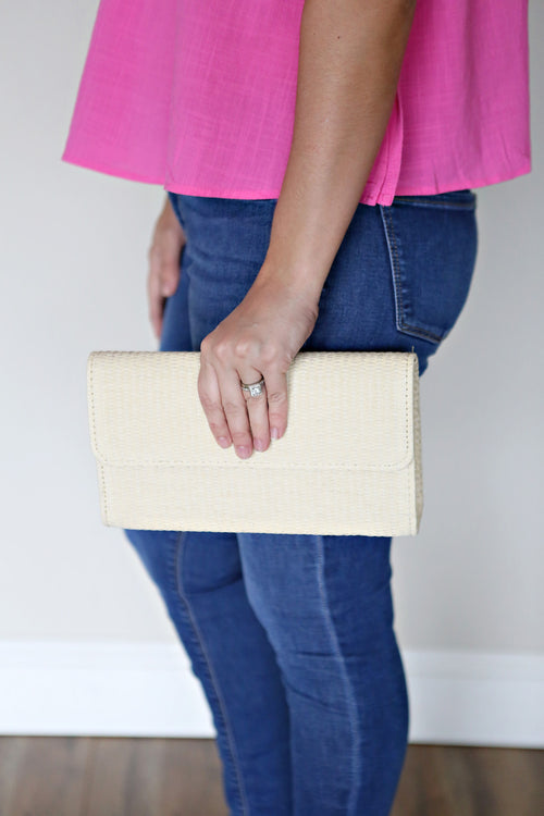 Blair Clutch - Natural