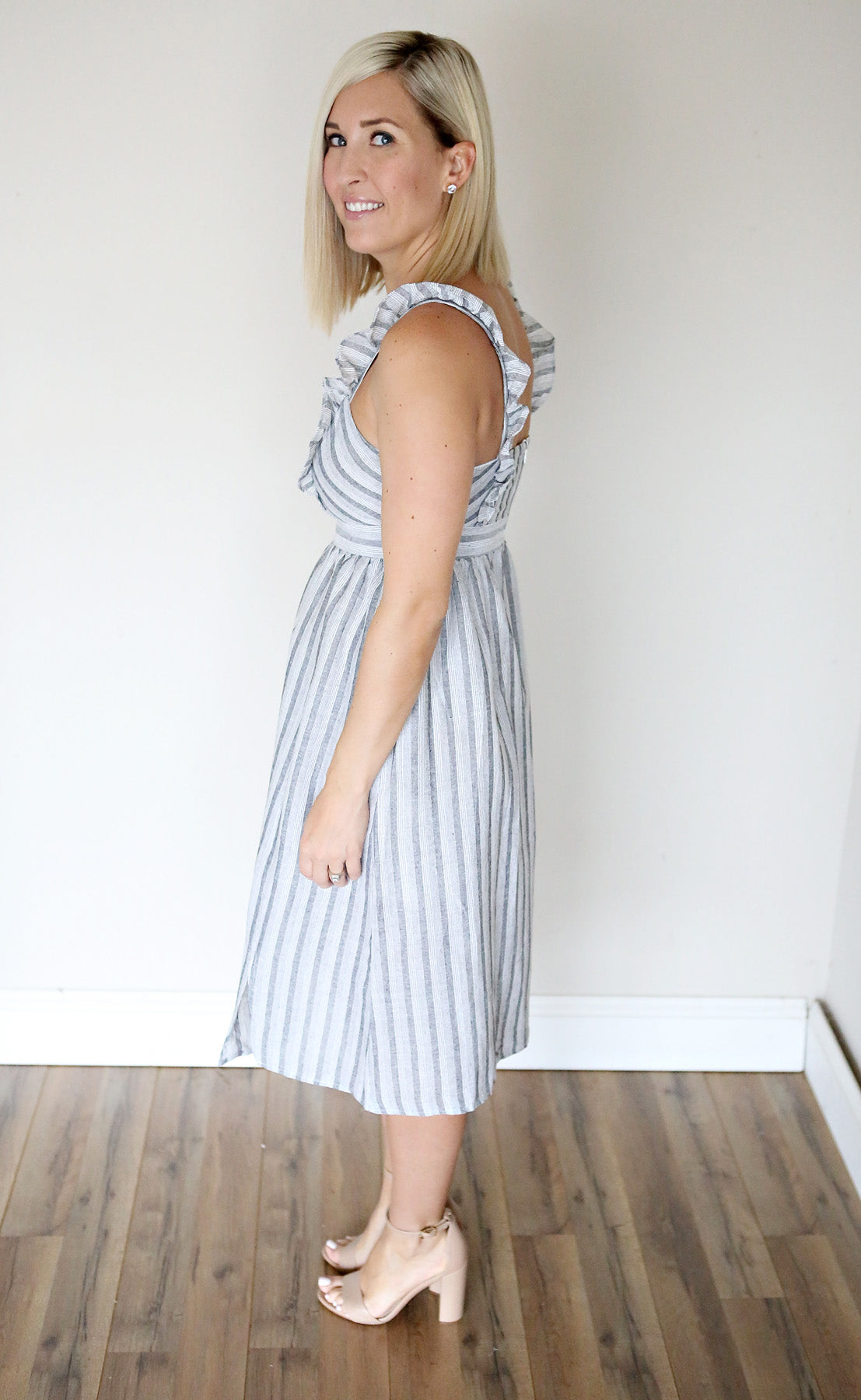 Brylin Dress - Gray Monroe
