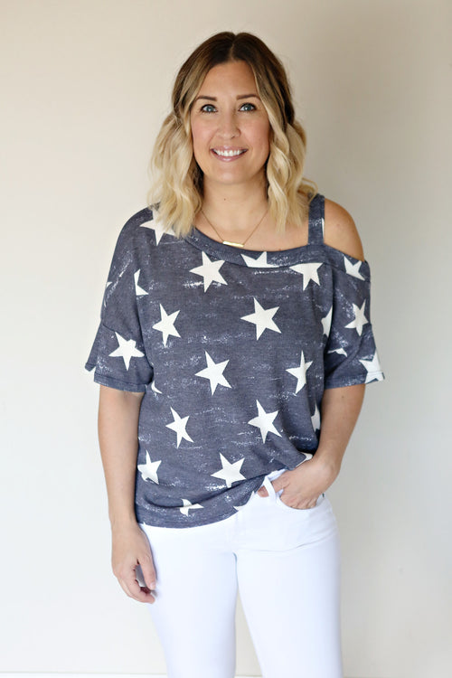 Starry Night Top (TAKE 50% OFF WITH CODE SALEONSALE)