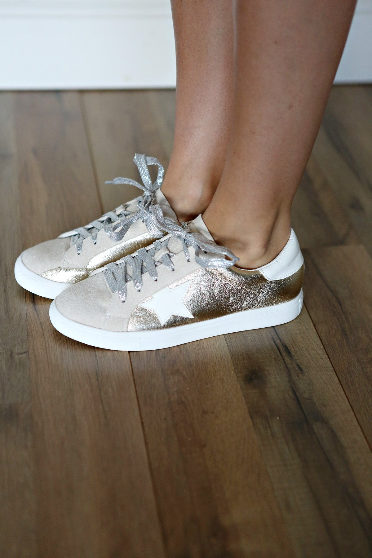 Goldie Sneakers - Gray Monroe