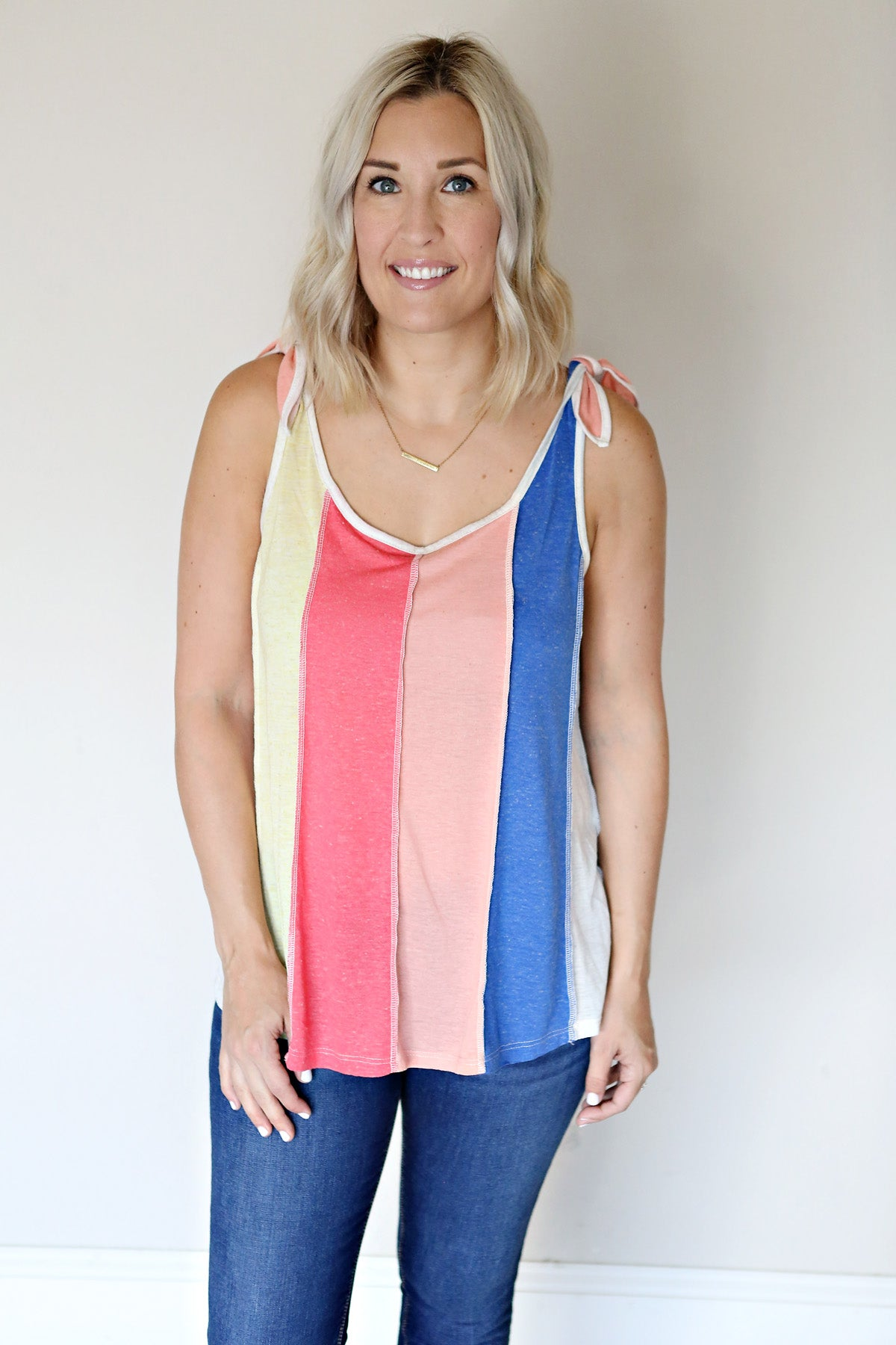 Eilish Tank - Gray Monroe