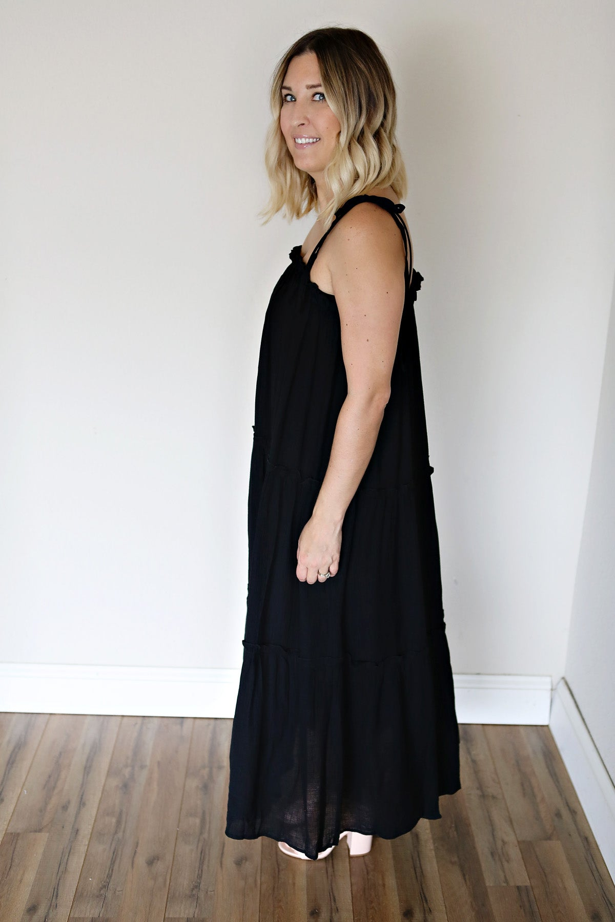 Dori Dress - Black - TAKE 50% OFF WITH CODE 'GOODBYESUMMER'