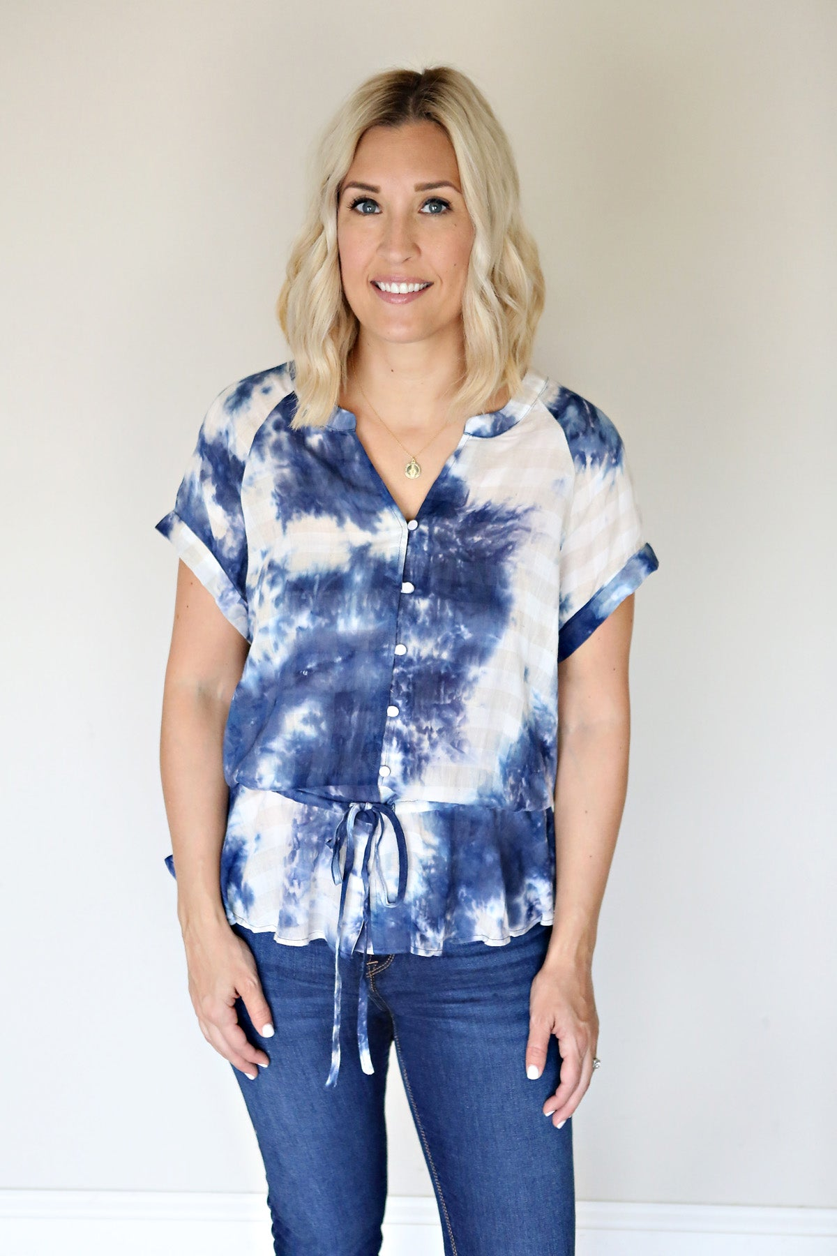 Harlow Top - Gray Monroe
