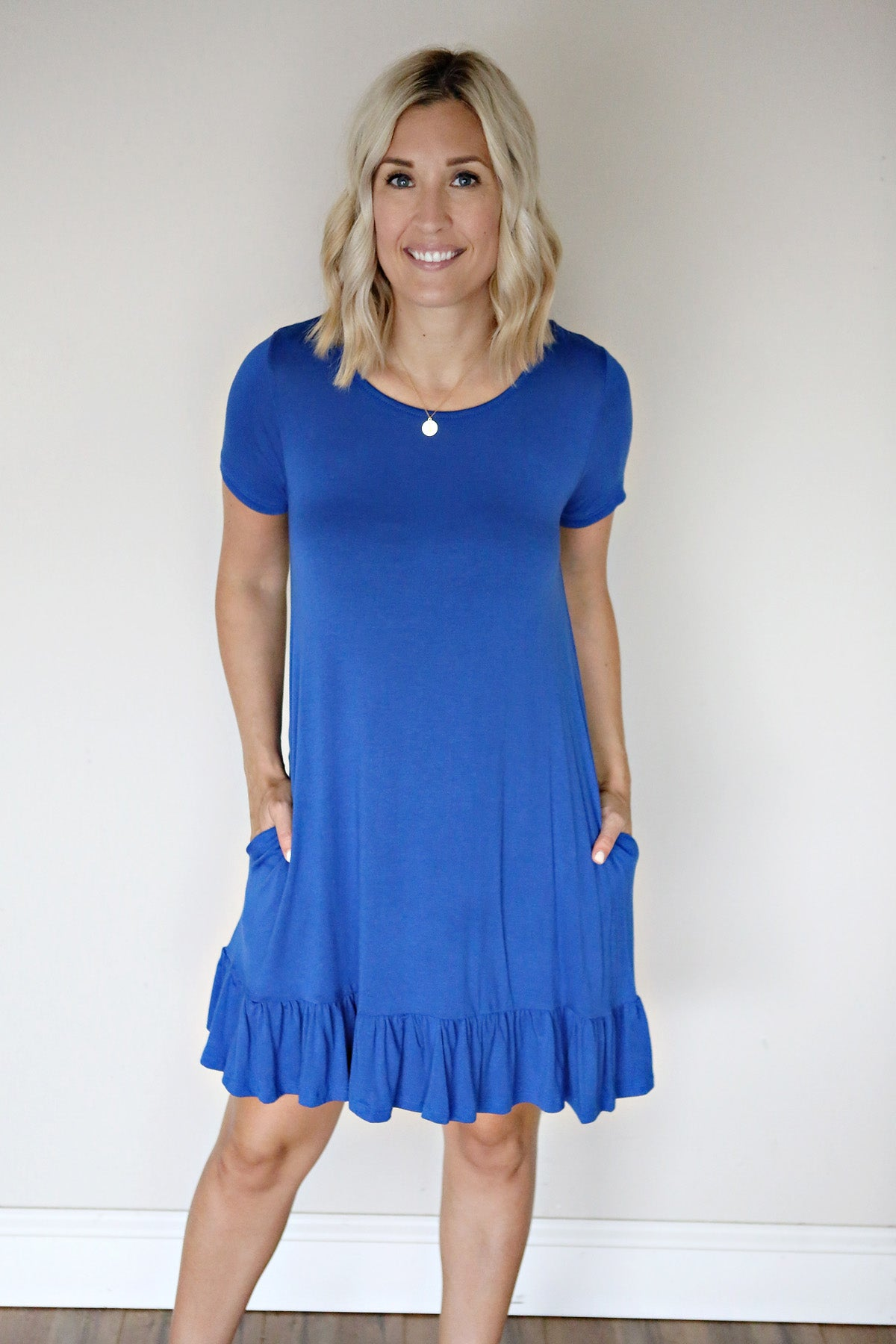 Leah Dress - Blue - FINAL SALE - Gray Monroe