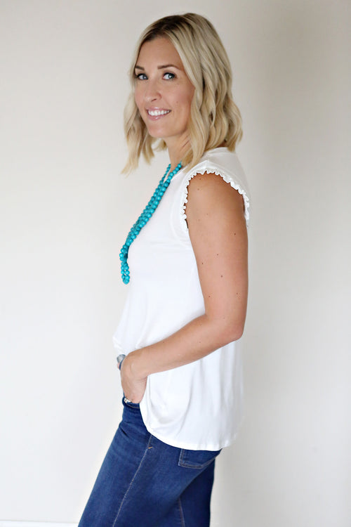 Theo Top - White