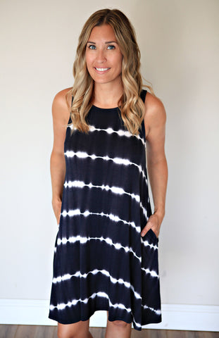 PRE-ORDER Piko Dress - Black