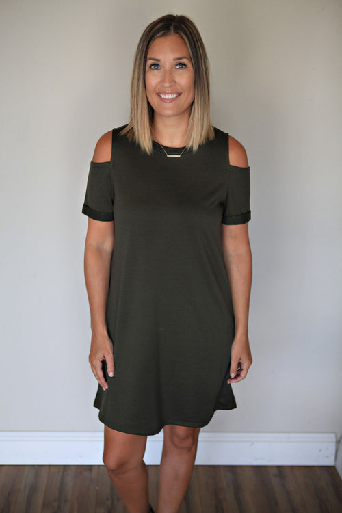 PRE-ORDER Paislee Dress - Gray Monroe