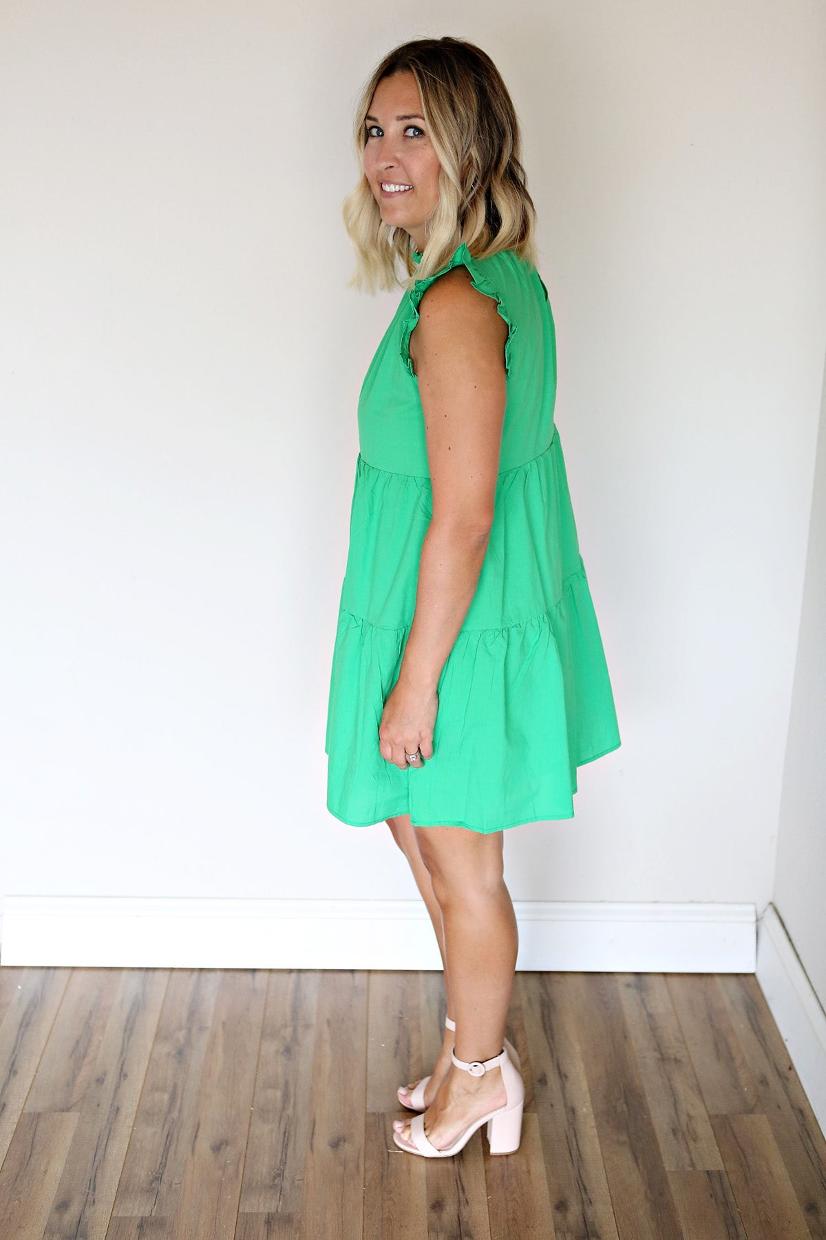 Caleb Dress - Green