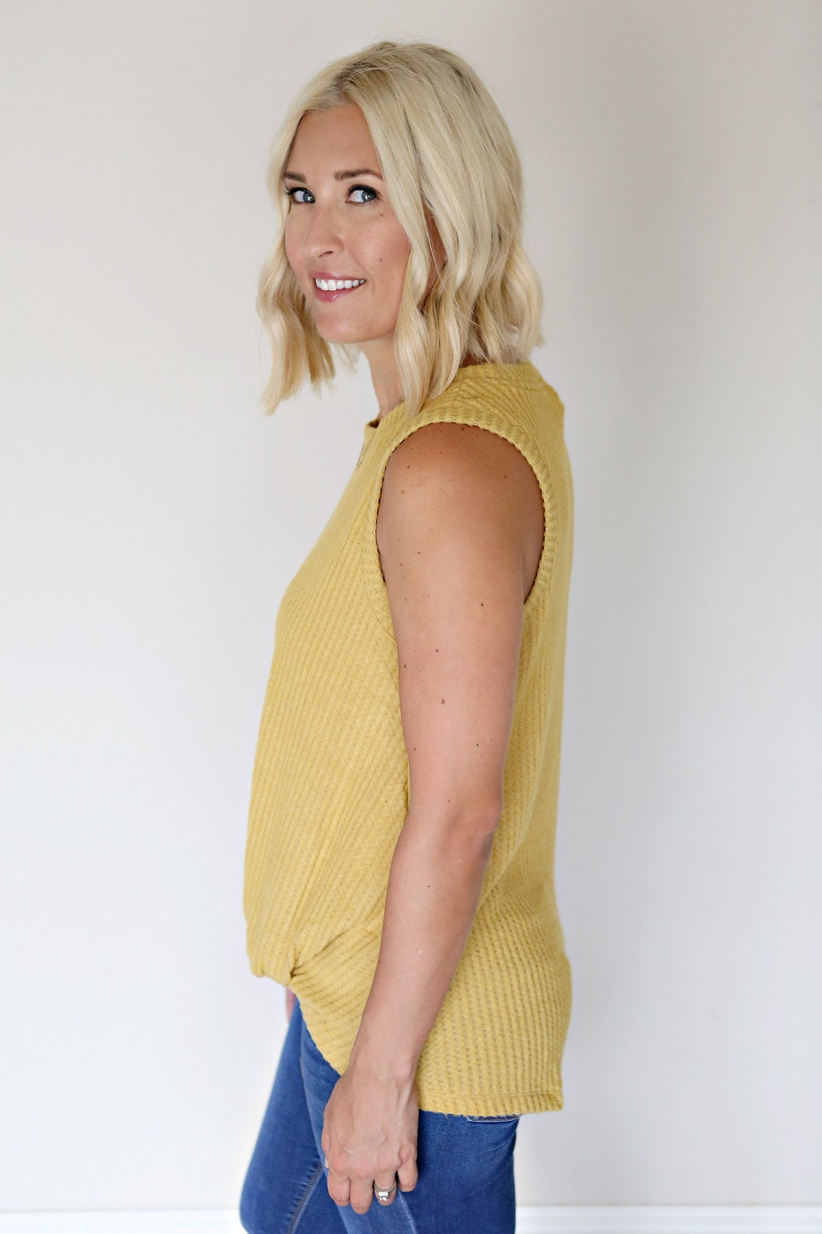 Oliver Top - Mustard - FINAL SALE - Gray Monroe