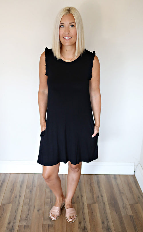 Theo Dress - Black - FINAL SALE - Gray Monroe
