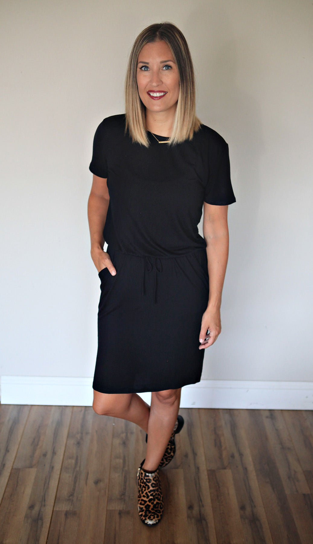 Copeland Dress - FINAL SALE - Gray Monroe