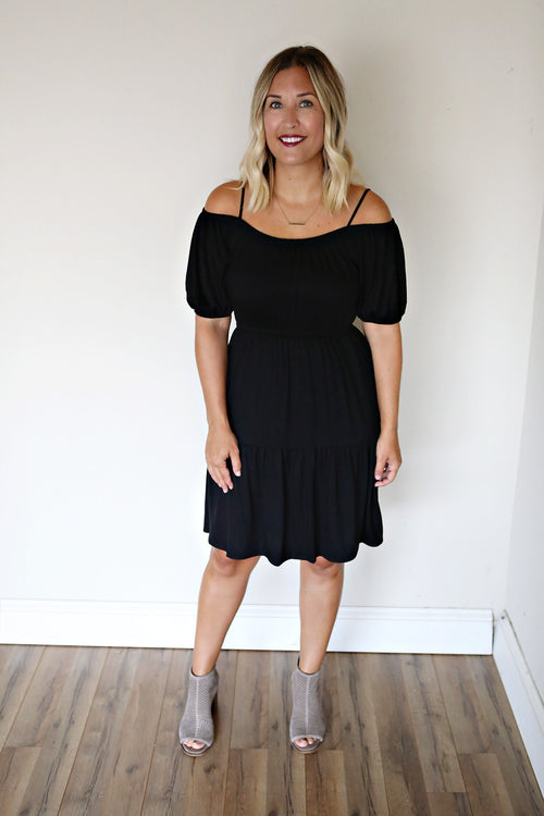 Bailey Dress - Black (TAKE 75% OFF WITH CODE 'FALLBREAK')