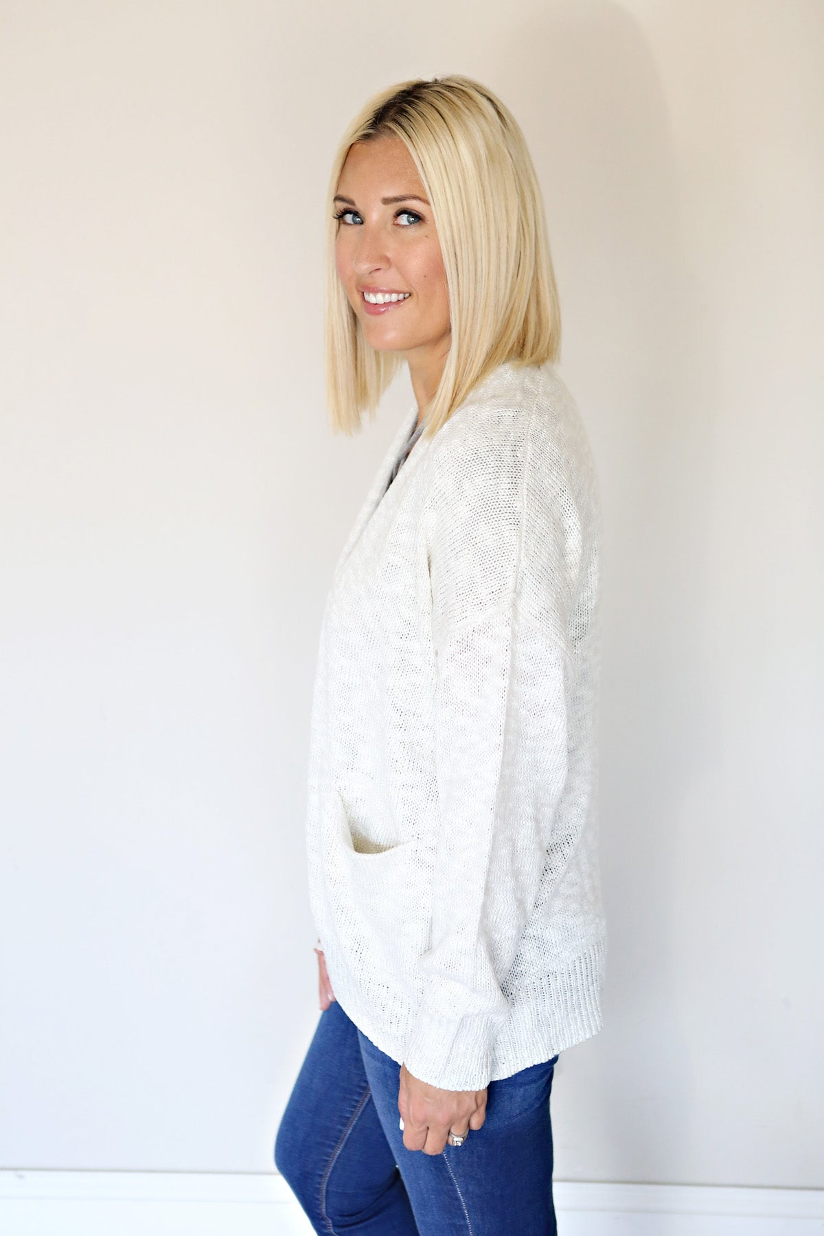 Kinsley Cardigan - Ivory - FINAL SALE - Gray Monroe