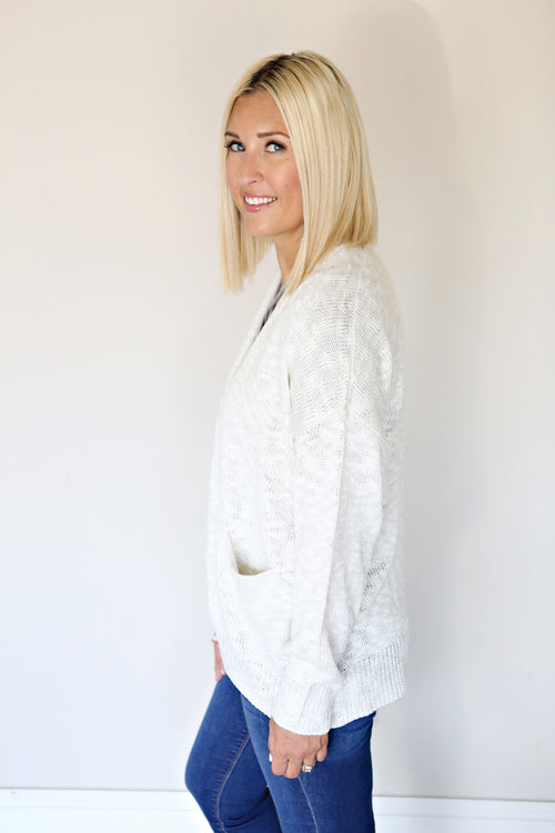 Kinsley Cardigan - Ivory - Gray Monroe