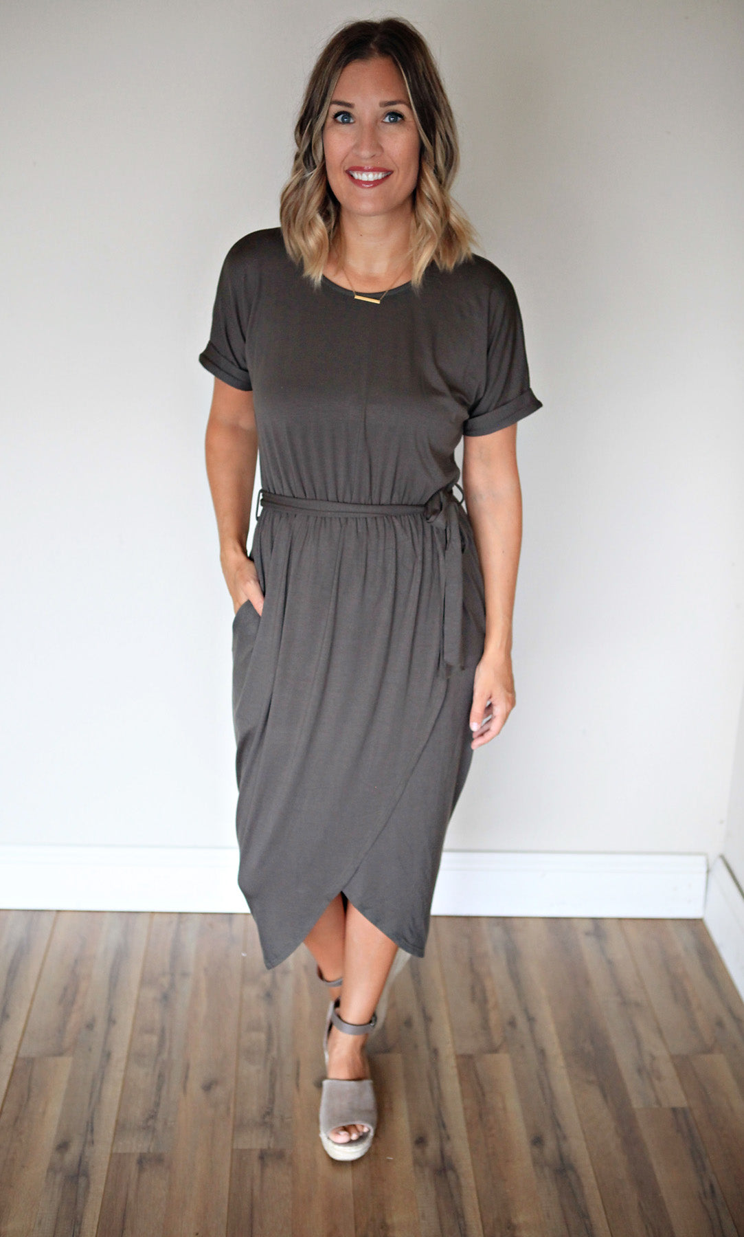 Sophia Dress - FINAL SALE - Gray Monroe