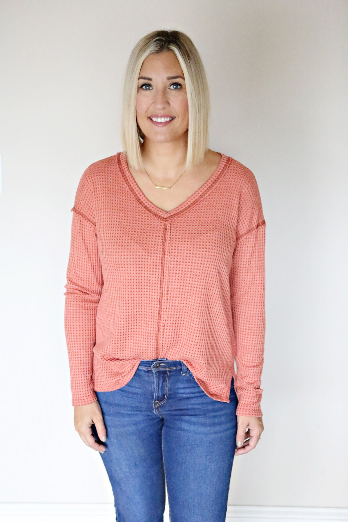 Alyssa Top - FINAL SALE - Gray Monroe