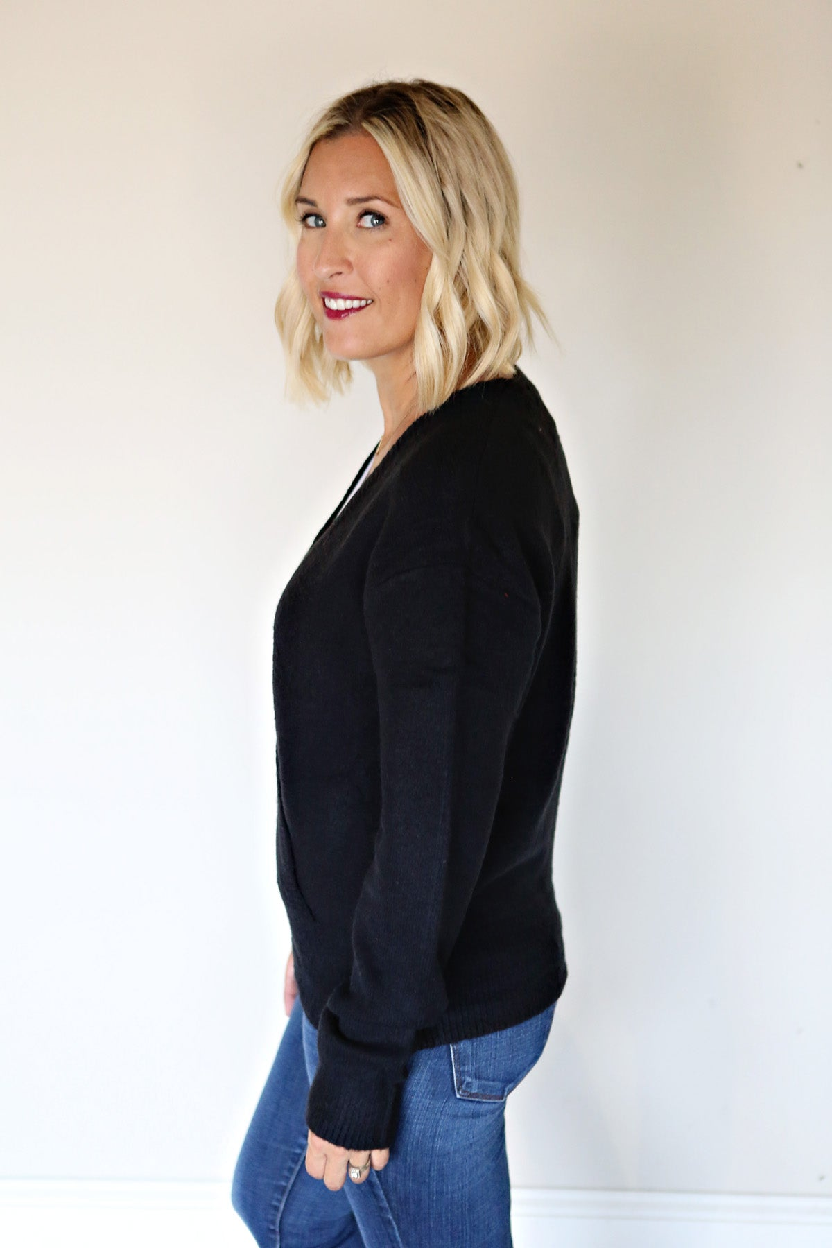 Bernadette Sweater - Gray Monroe