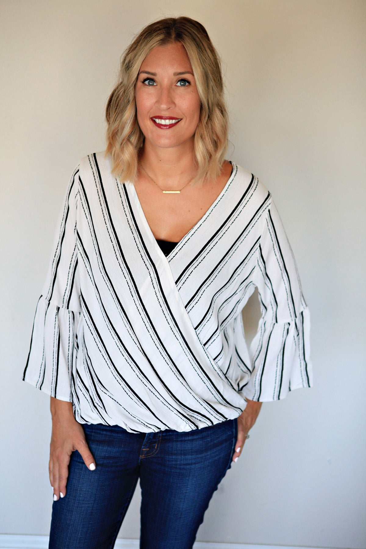 Kirsten Top - FINAL SALE - Gray Monroe