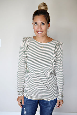 Presley Top - Grey