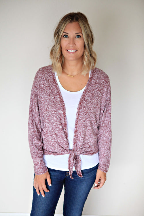 Bailey Cardigan - FINAL SALE - Gray Monroe