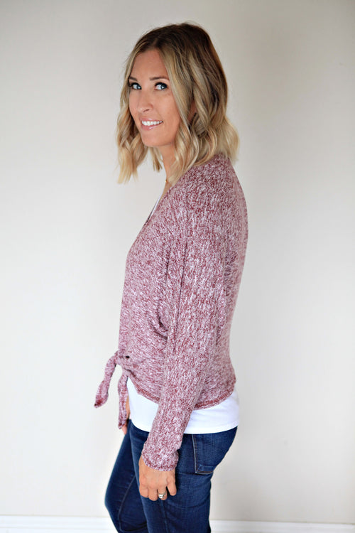 Bailey Cardigan - Gray Monroe