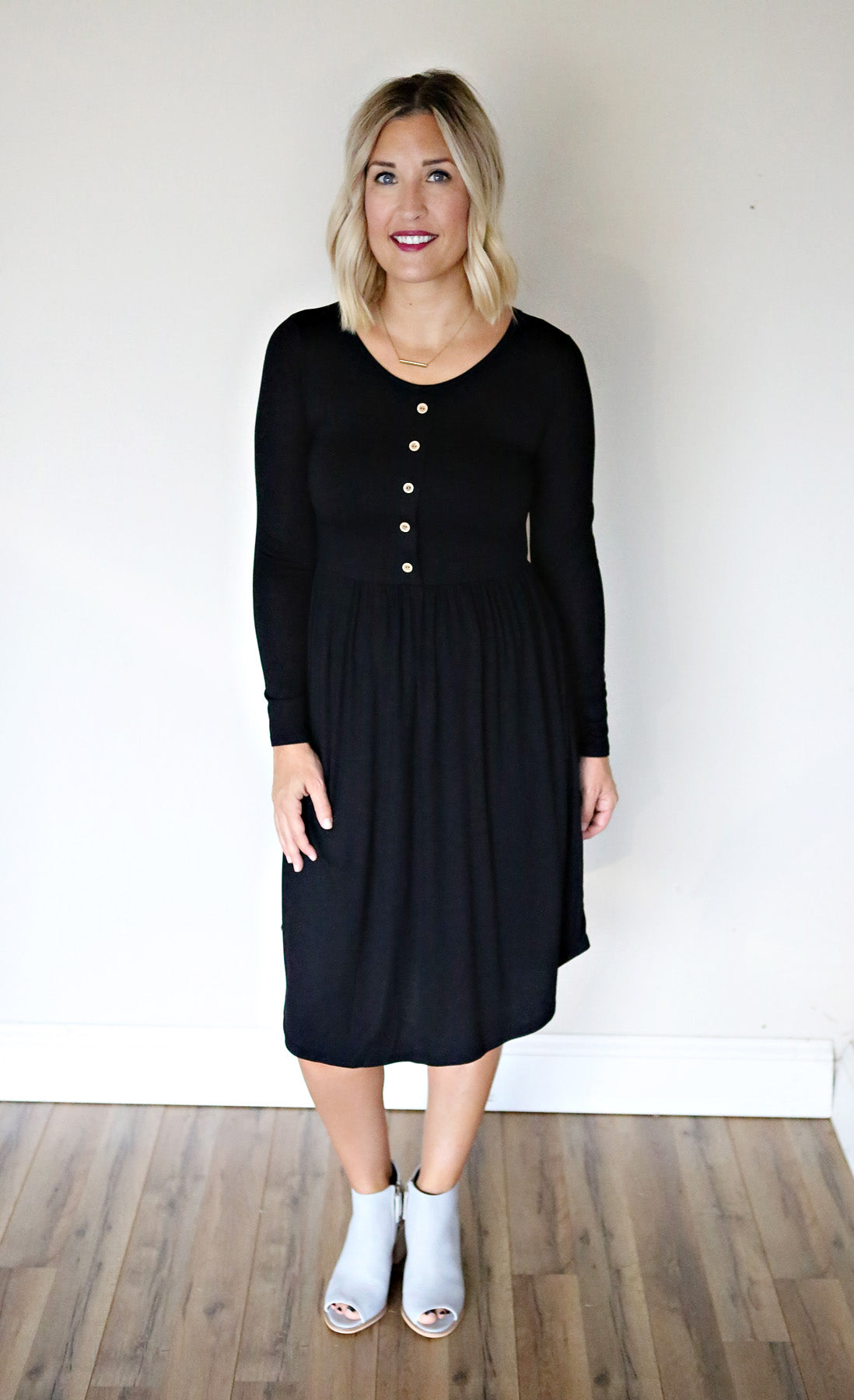 Tatum Dress - Black - FINAL SALE - Gray Monroe