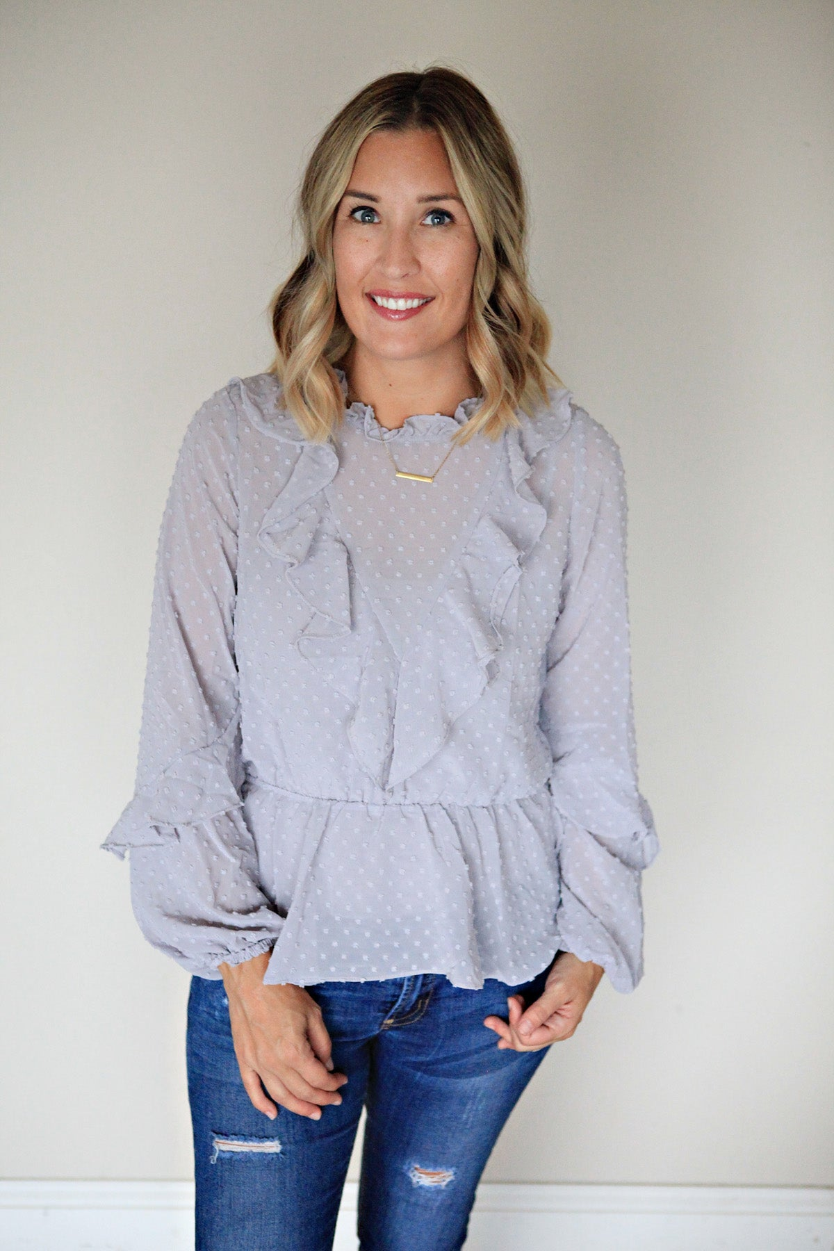 Gracie Top - Gray Monroe