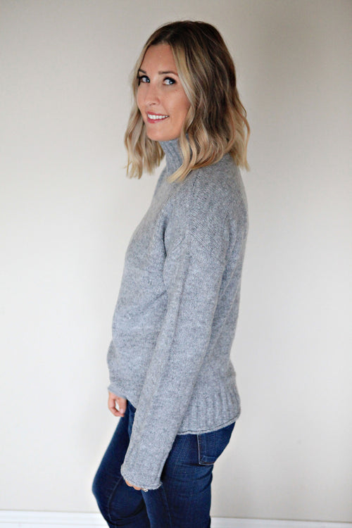 Josiah Sweater - Gray Monroe