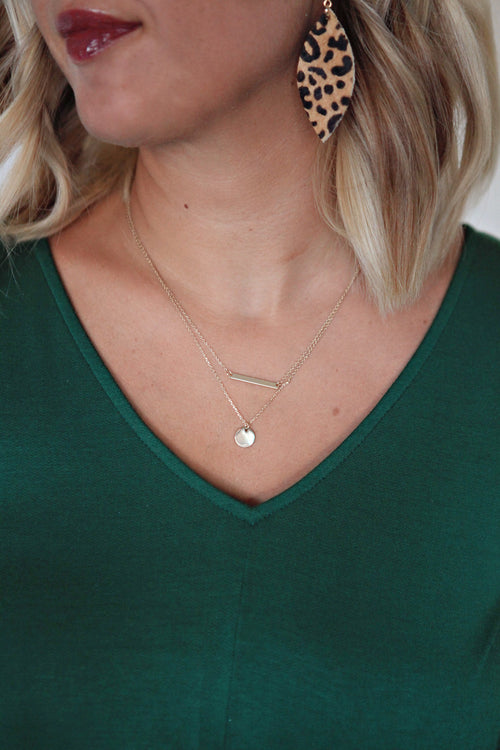 Marie Necklace - Gray Monroe